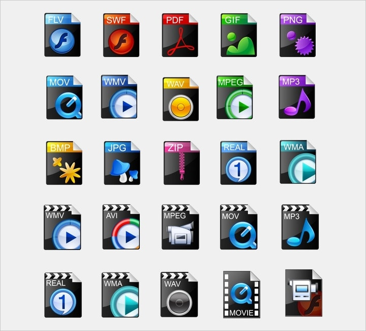 computer-multimedia-icons