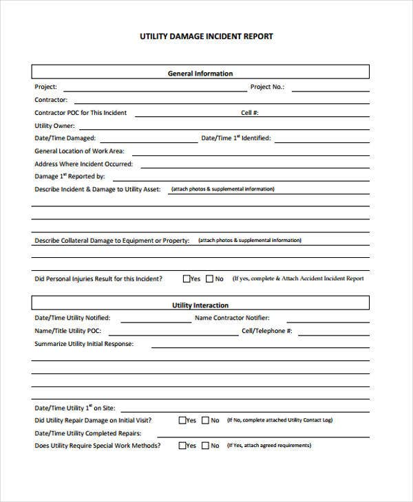 incident report writing sample Accident/incident report form report 1doc 1 7-jan-10 title: sample incident/accident report form author: sample incident/accident report form.