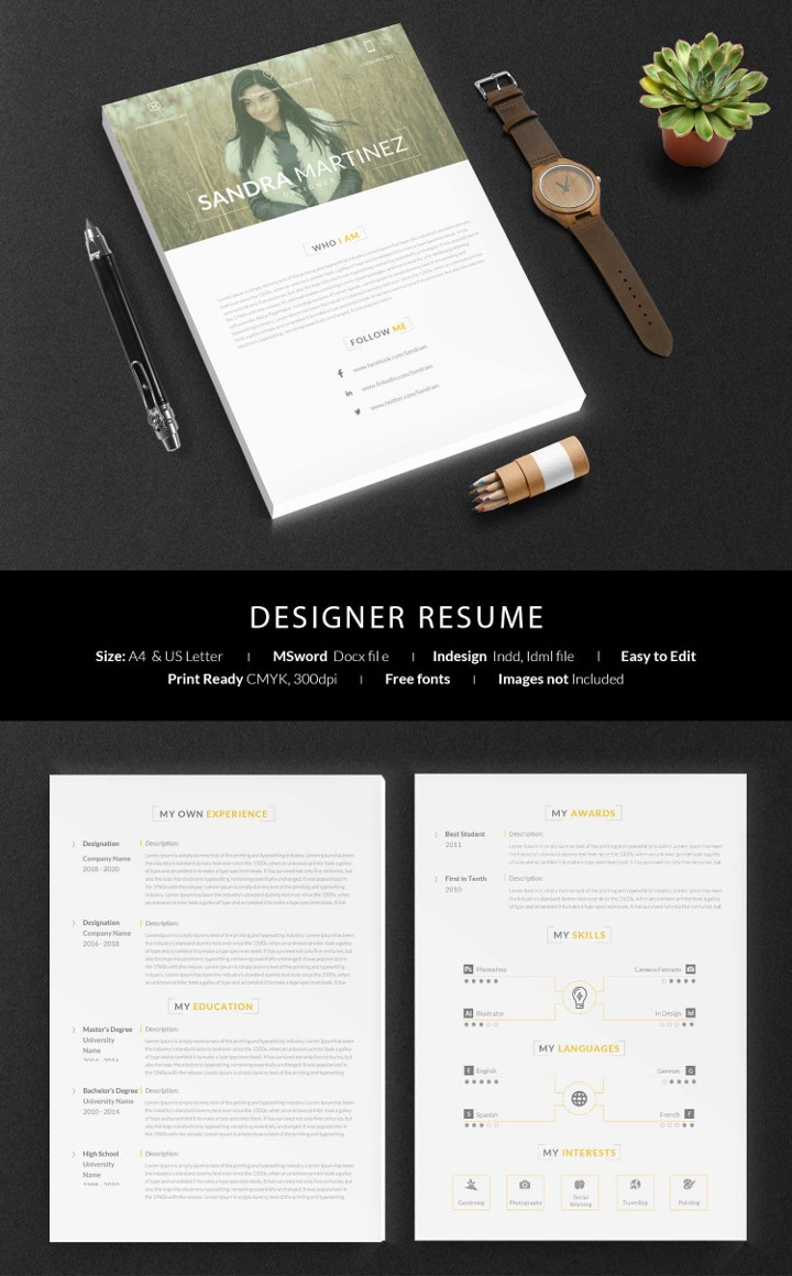 designer-resume-template