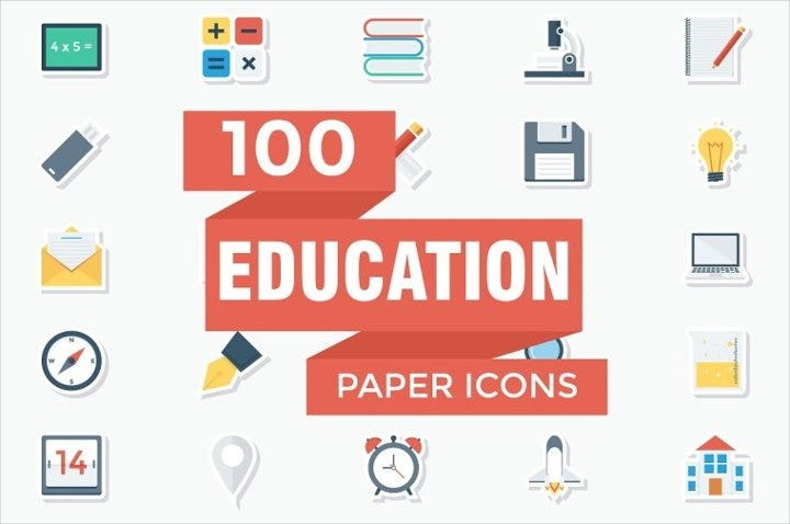 education-flat-icons