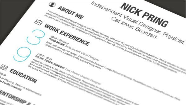 5  electrician resume templates