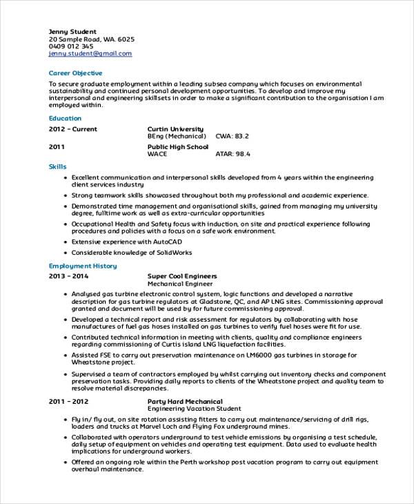 38 Resume Format Templates Free Premium Templates