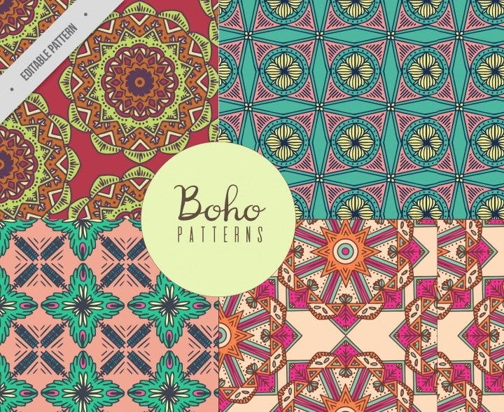 ethnic geometric pattern2
