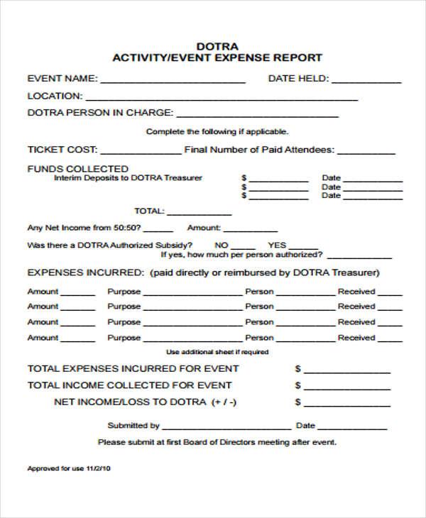 event expense