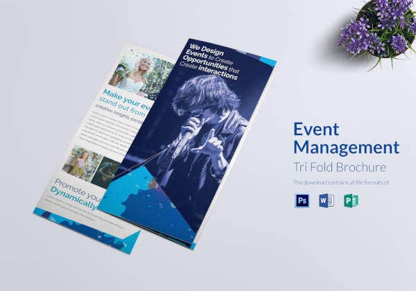 event-management-tri-fold-brochure-template