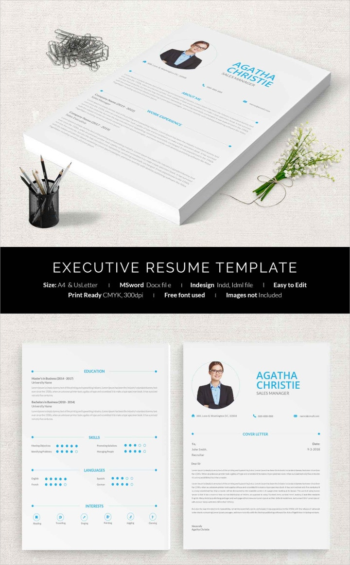 executive-resume-template