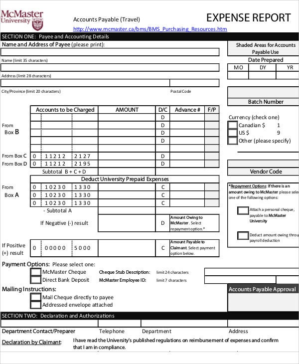Budget Report Templates - 10+ Free Word, Pdf Format Download