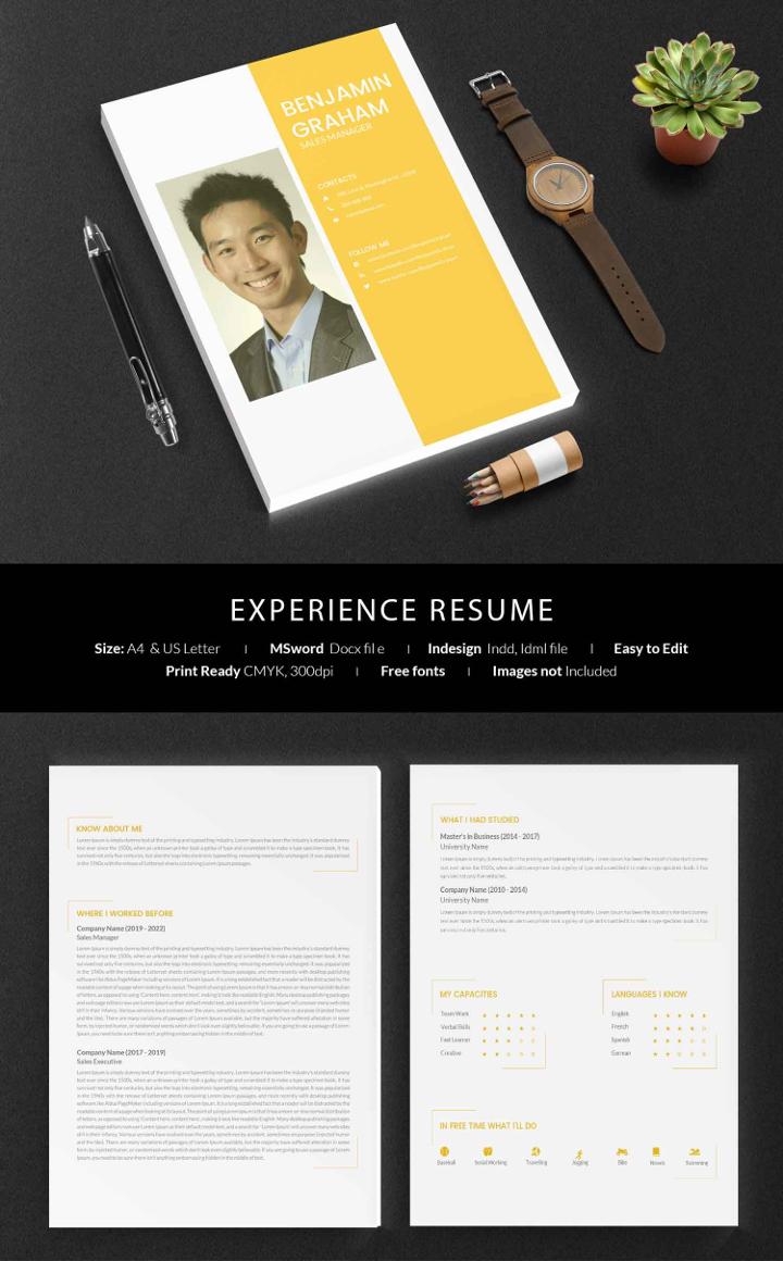 experience-resume