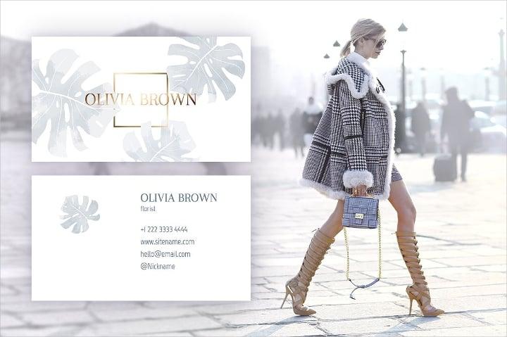 feminine-business-card