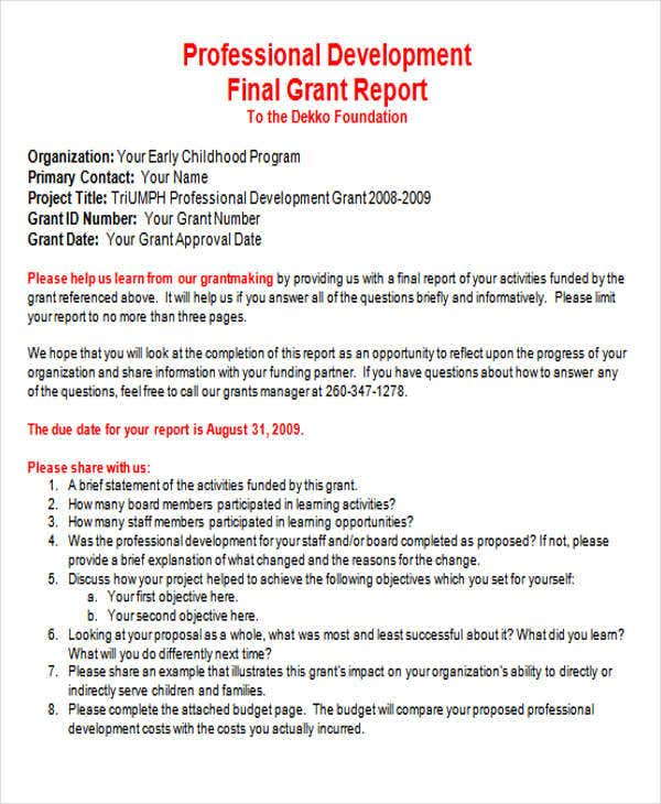 How to Write a Progress Report or a Quarterly Report