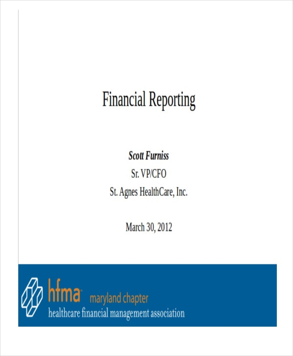 finance report powerpoint1