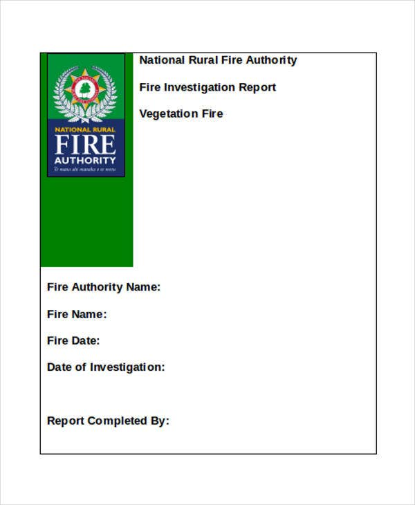 fire inspection in word