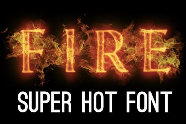fire font hot font flame font