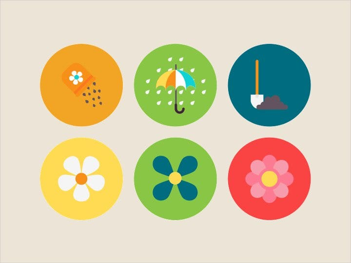 flat-spring-app-icons