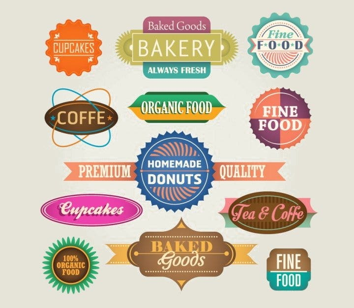 food-label-badges