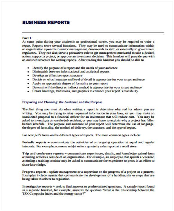 Sample Report Format | Business Progress Report Example Mashar Ibmdatamanagement Co