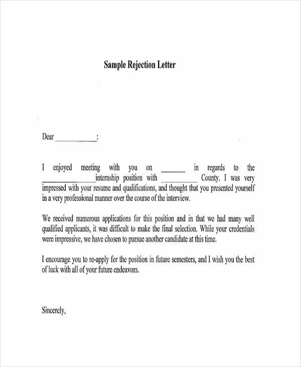 Job application regret letter sample fresh letter of regret job application letter inspiration thecheapjerseys Images