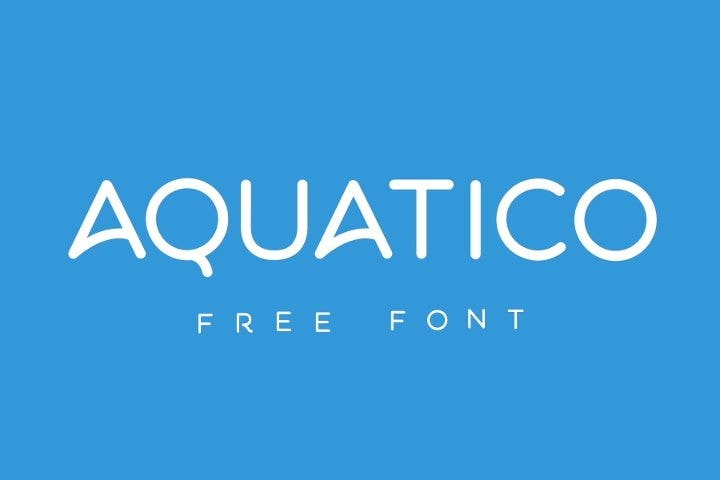 free animated font