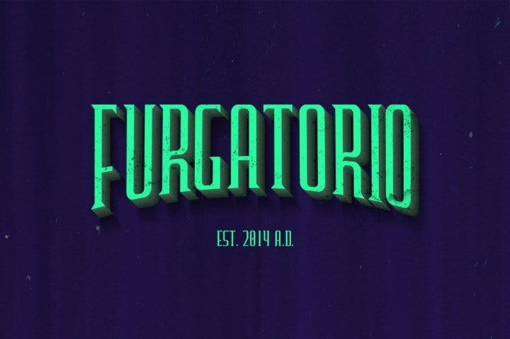 free-furgatorio-font1