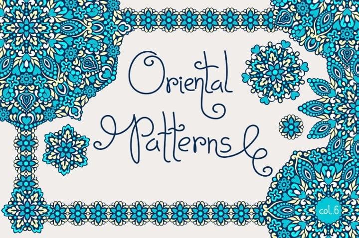 free-oriental-patterns
