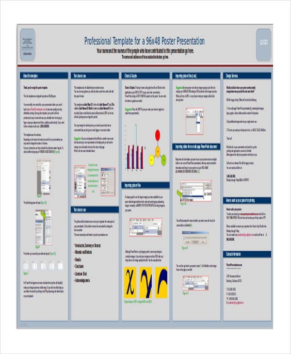 Poster Powerpoint Templates Free Iroshfo