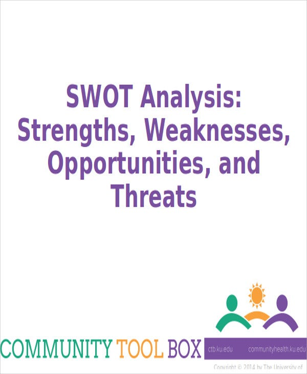 free swot analysis powerpoint