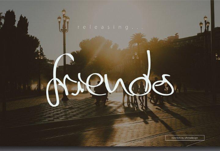 friends-script-font2