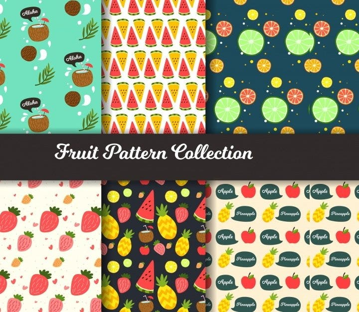 fruit-pattern-collection