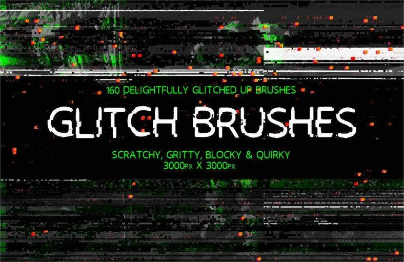 glitch-brushes
