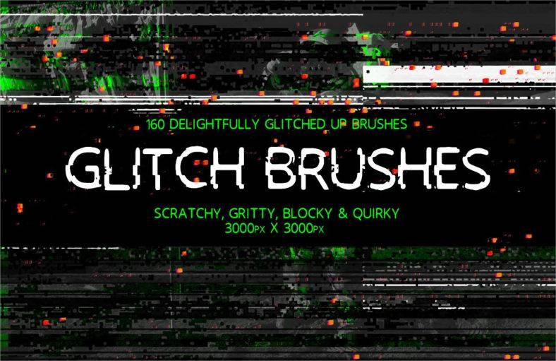 glitch brushes 788x511