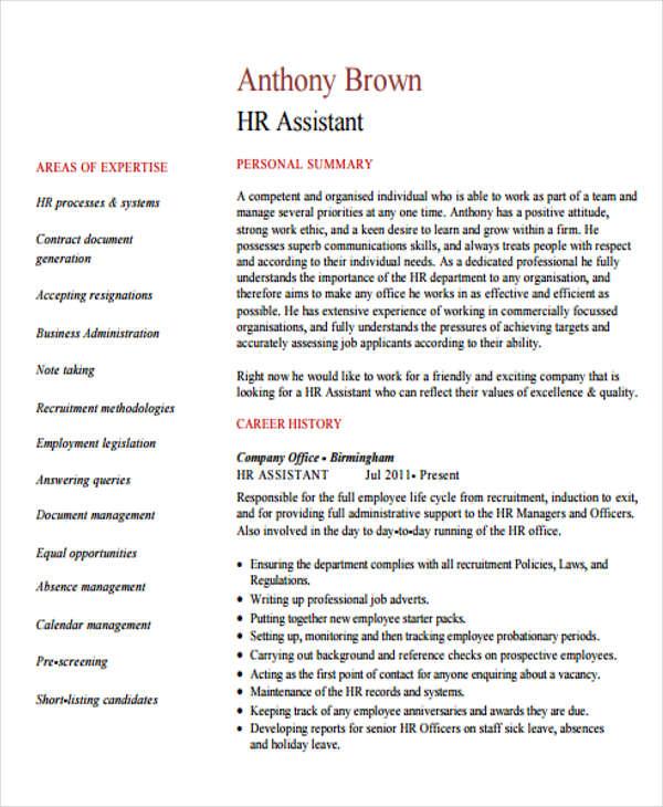 hr assistant4
