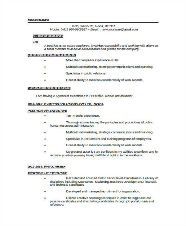 resume samples for teachers doc resume examplehr recruiter resume sample hr resume sample resume dayjob - Recruiter Resume Example