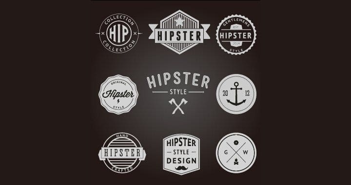 hipster-style-badges