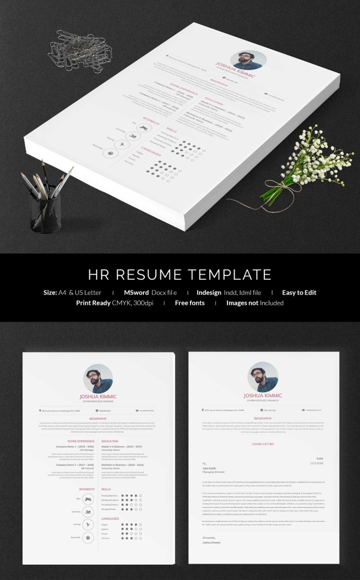 hr-resume-template