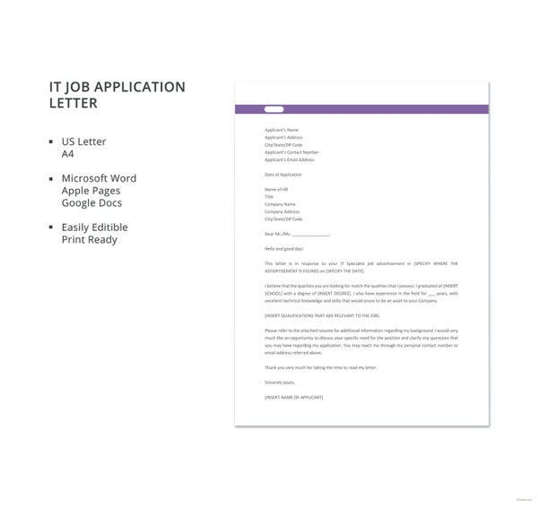 it-job-application-letter-template