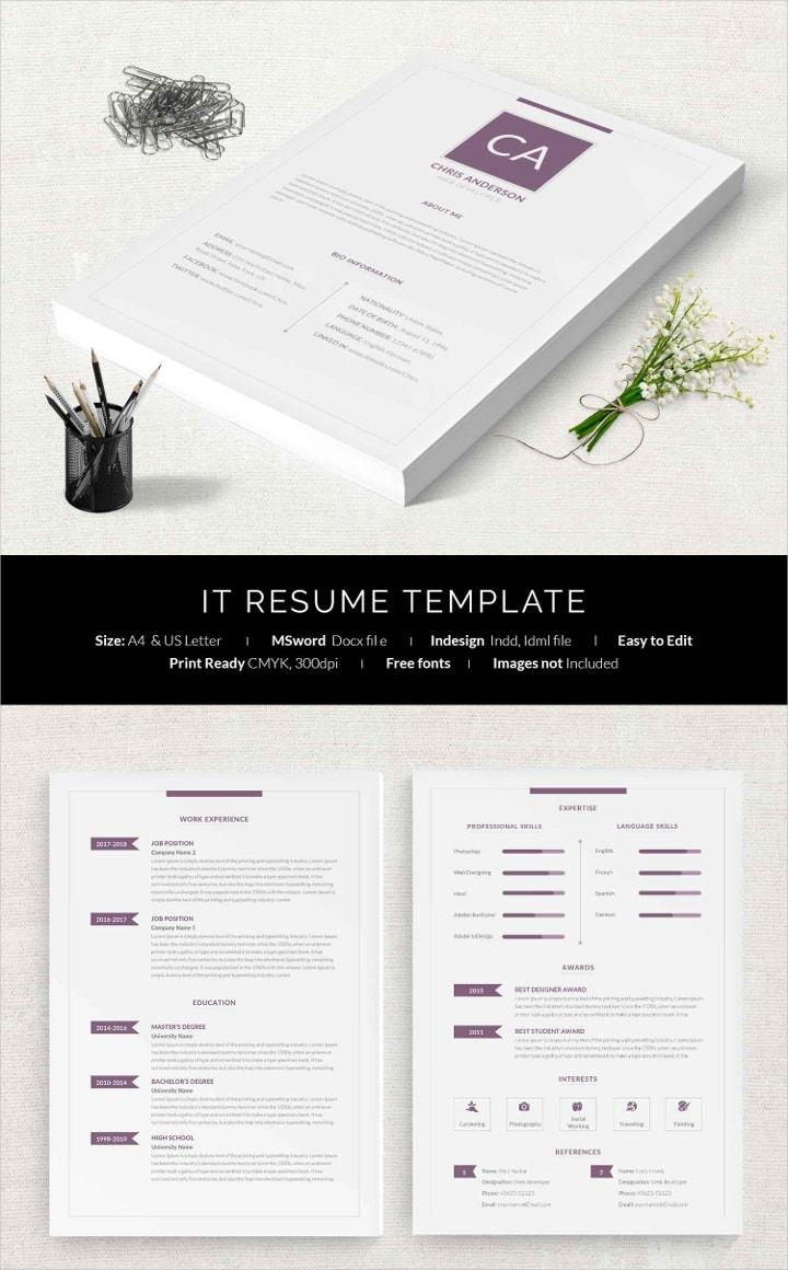 it-resume-template