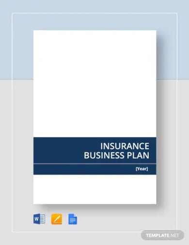 insurance business plan template