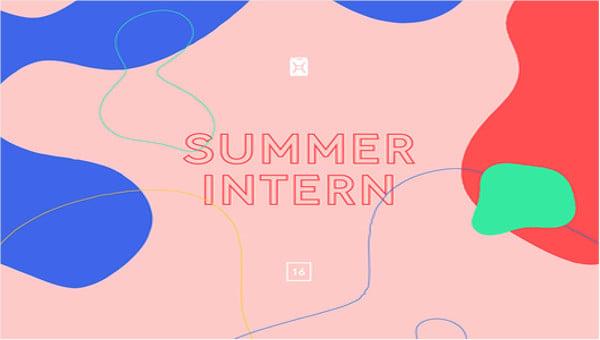 internshipresignationletters