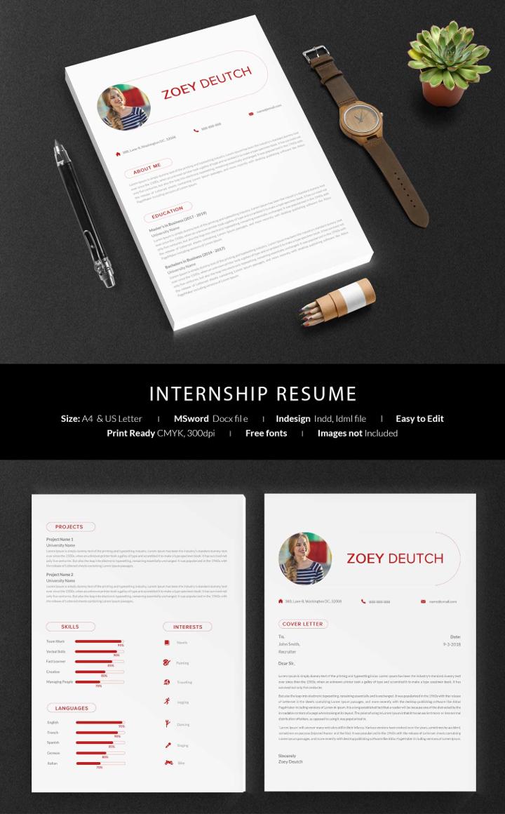 internship-resume