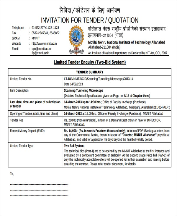 Tender template document datariouruguay gusii mwalimu sacco tender documents 20152016 stopboris Choice Image