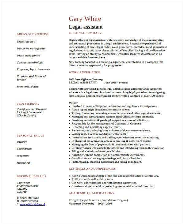 law assistant