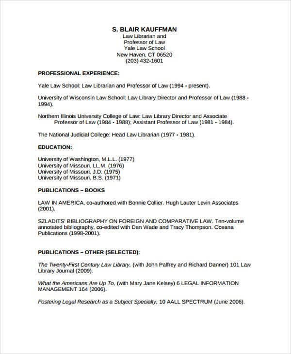 Law-Lirian1 Sample Curriculum Vitae For Graduate on