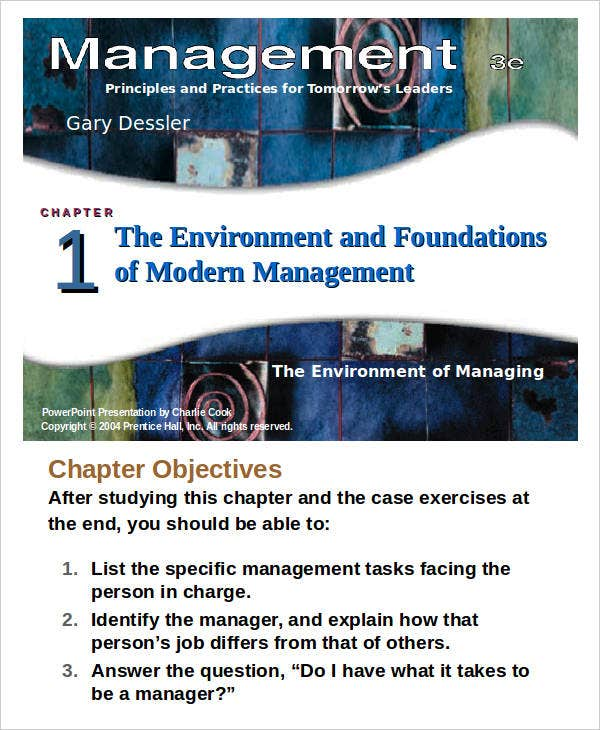 management powerpoint