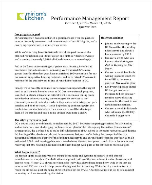 management report1