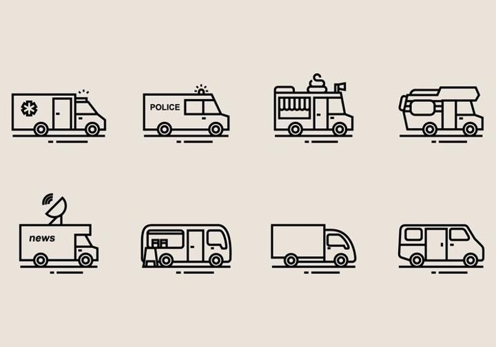 minibus-icons