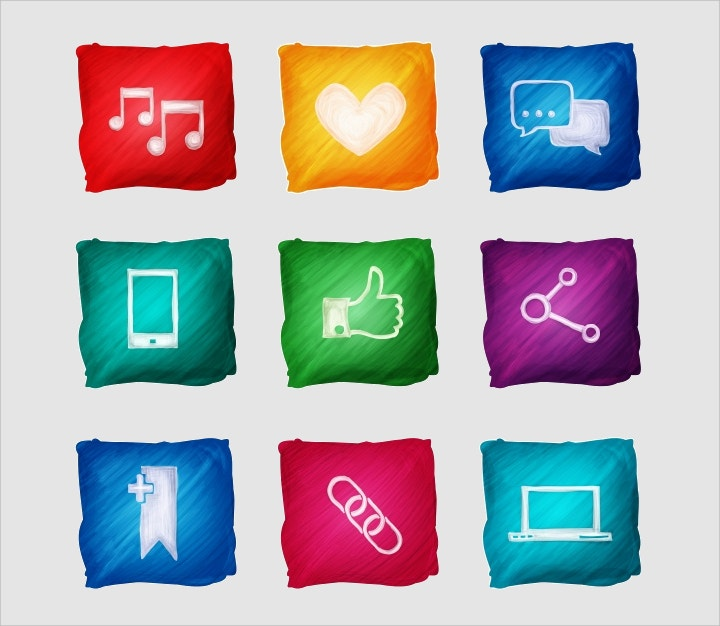 multimedia-icons-free-vector