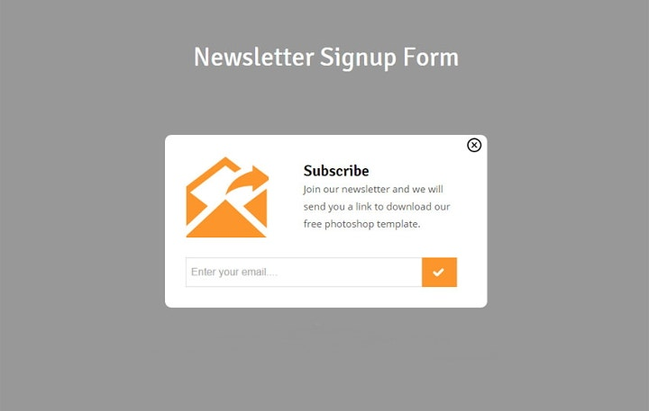 18  sign up form templates