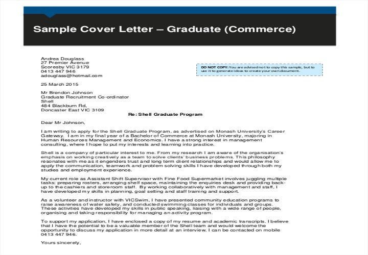 no experience graduate job application letter2