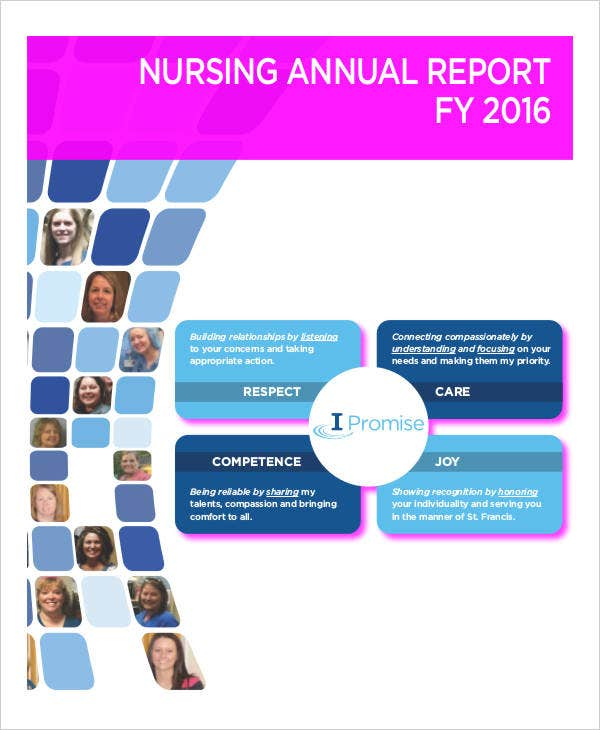 Nursing Report Templates  Free Sample Example Format Download