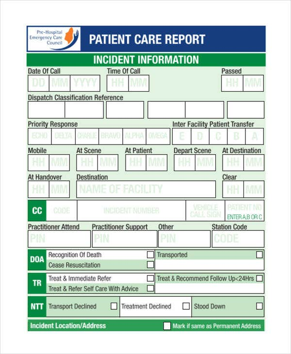 nursing patient report1